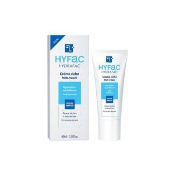 Hyfac Hydrafac bogata vlažilna krema za obraz, 40 ml