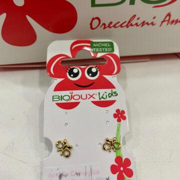 Biojoux Kids medicinski uhani metuljček BJT709
