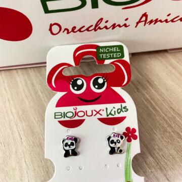Biojoux Kids medicinski uhani Baby panda