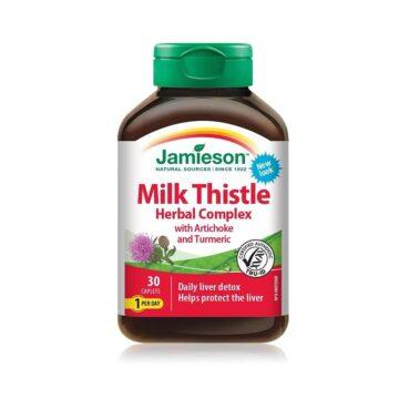 Jamieson Pegasti badelj rastlinski kompleks za razstrupljanje jeter, 30 tablet