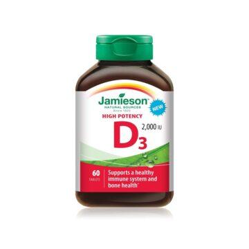 Jamieson Vitamin D 2000 I.E., 60 tablet