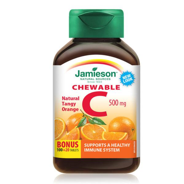 Jamieson vitamin C 500 mg bonboni