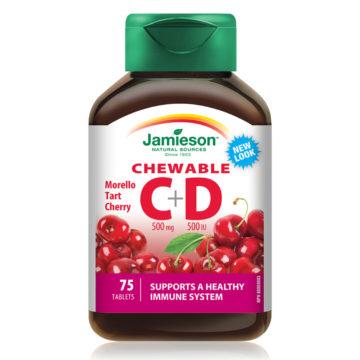 Jamieson vitamin C+D bonboni