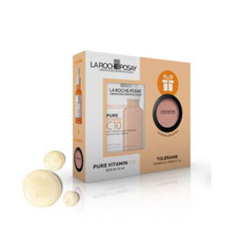 La Roche Posay Pure Vitamin C10 serum + DARILO, 30 ml