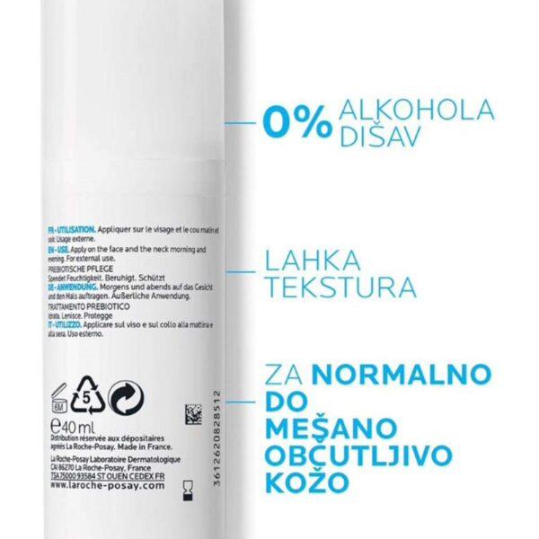 La Roche Posay Toleriane Sensitive fluid za mešano in občutljivo kožo, 40 ml 01