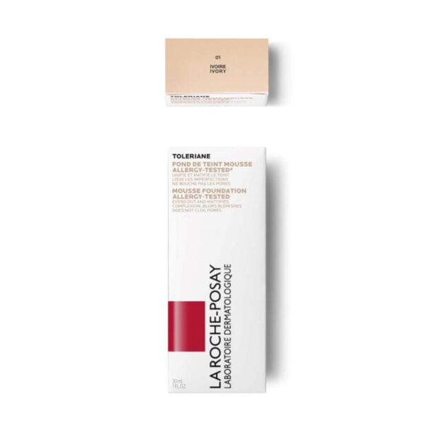 La Roche Posay Toleriane Teint matirajoč puder v peni, 30 ml 02