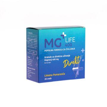 Magnezij+Life 400 Direkt granule 20