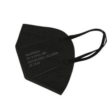 Maska črna FFP2, 1 maska