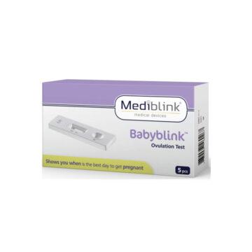Mediblink Babyblink ovulacijski test kaseta M154, 5 testov