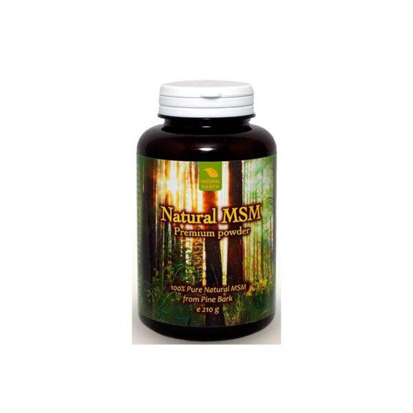 Natural Earth Natural MSM Premium prah, 210 g