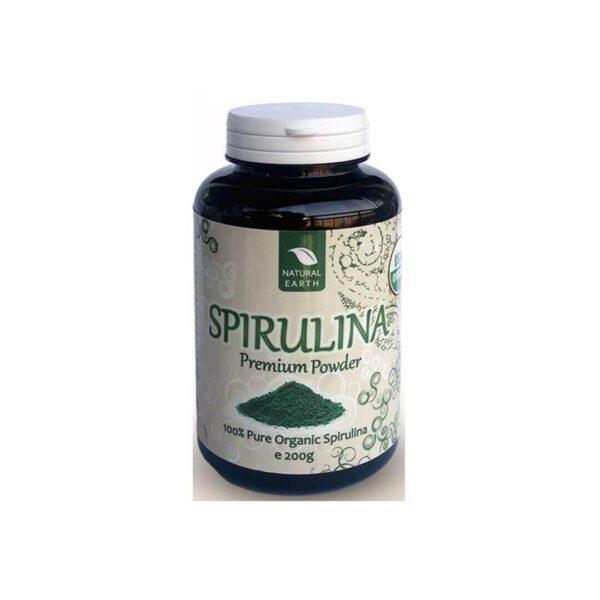 Natural Earth Spirulina prah, 200 g