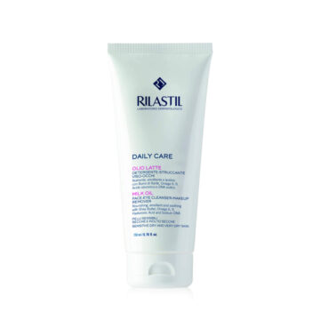 Rilastil Daily Care oljno mleko za čiščenje obraza in oči, 200 ml