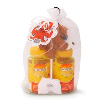 Supradyn Kids žvečljivi gumijasti medvedki, 2x30 bonbonov + DARILO
