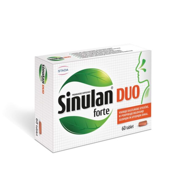 Sinulan Duo Forte tablete 01