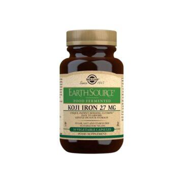 Solgar Koji Iron 27 mg kapsule, 30 kapsul