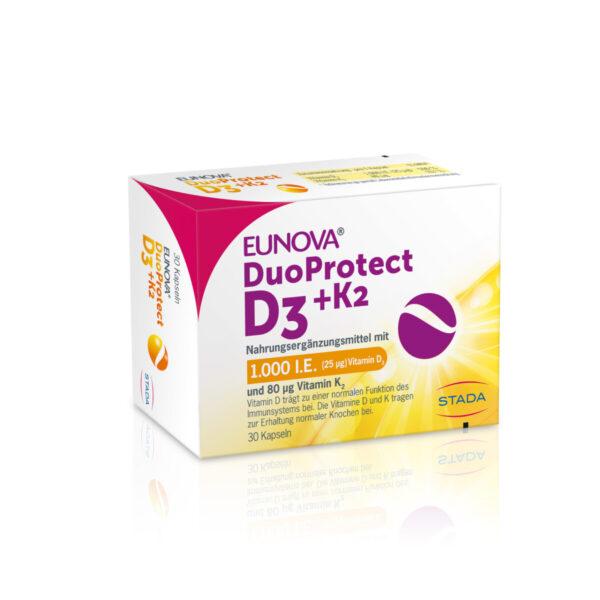 Stada Eunova DuoProtect D3 + K2