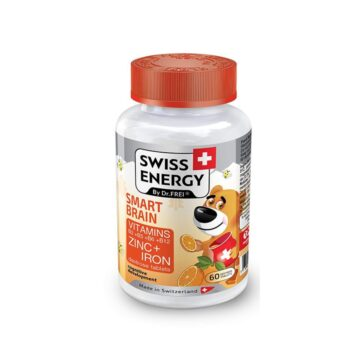 Swiss Energy Bistri možgančki za otroke, 60 bonbonov
