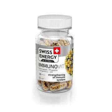 Swiss Energy Immunovit, 30 kapsul
