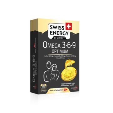 Swiss Energy Omega 3-6-9 Optimum, 30 kapsul