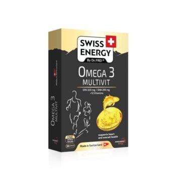 Swiss Energy Omega 3 Multivit, 30 kapsul