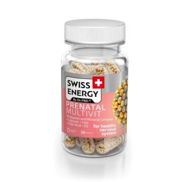 Swiss Energy Prenatal Multivit, 30 kapsul