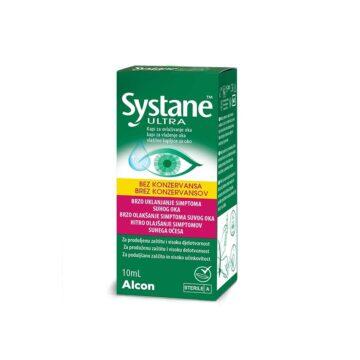 Systane Ultra vlažilne kapljice za oko brez konzervansov, 10 ml