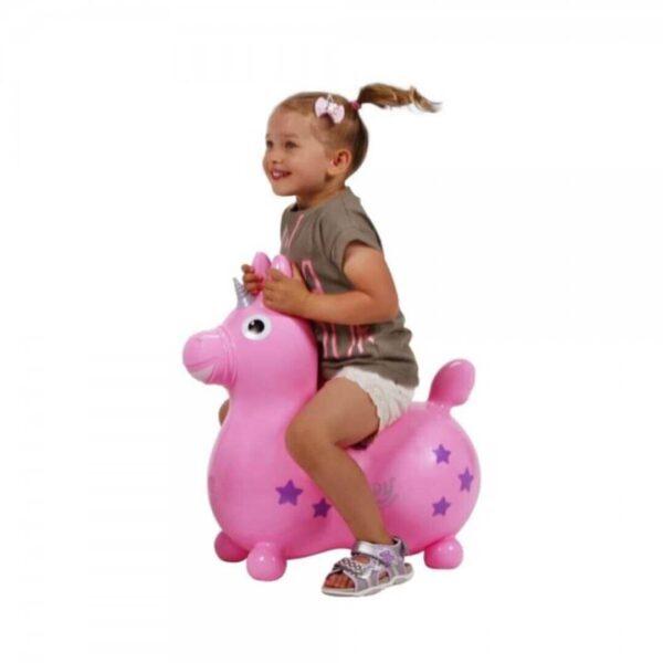 Terapevtski konjiček Rody Magical Unicorn pink, 1 konjiček