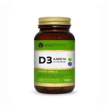 Vonpharma vitamin D3 4.000