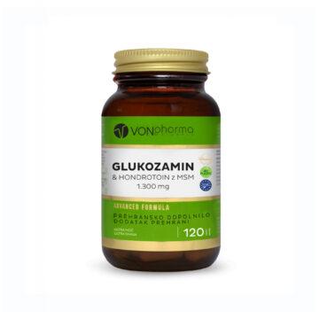 Vonpharma glukozamin in hondrotoin z MSM