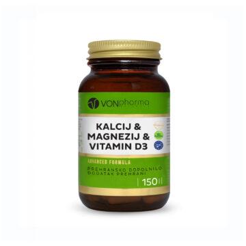 Vonpharma kalcij magnezij in D3