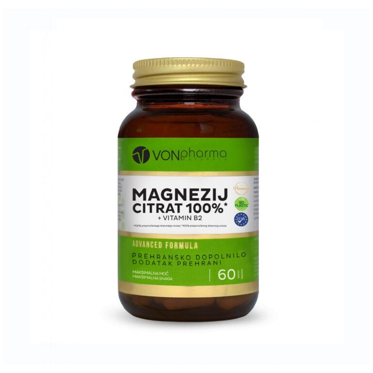 Vonpharma magnezij citrat + B2