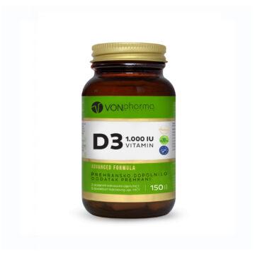 Vonpharma vitamin D3 1.000