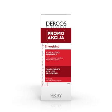 Vichy AKCIJA Dercos Energisant šampon proti izpadanju las, 200 ml