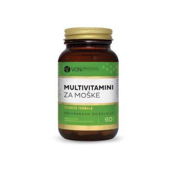 VonPharma multivitamini za moške, 60 kapsul
