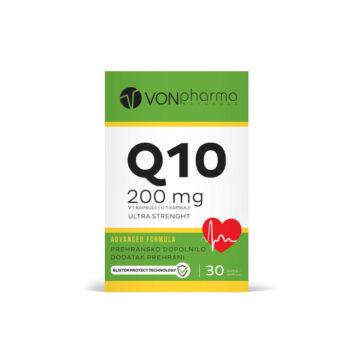 Vonpharma CoQ10 200 mg Ultra Strenght, 30 kapsul