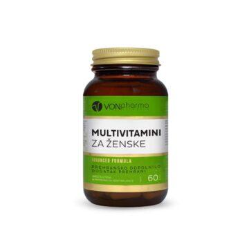 Vonpharma Multivitamini za ženske, 60 kapsul