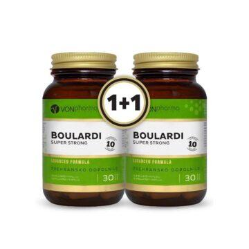 Vonpharma akcijski paket Boulardi Super Strong, 2 x 30 kapsul 1+1 GRATIS