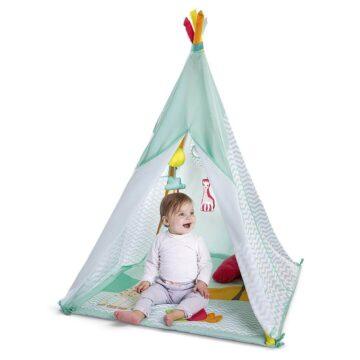 Žirafa Sophie aktivnostni šotor tipi, 1 šotor