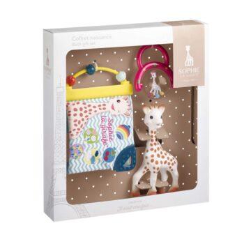 Žirafa Sophie darilni set ob rojstvu, 1 set
