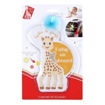 Žirafa Sophie opozorilo Baby on board, 1 opozorilo