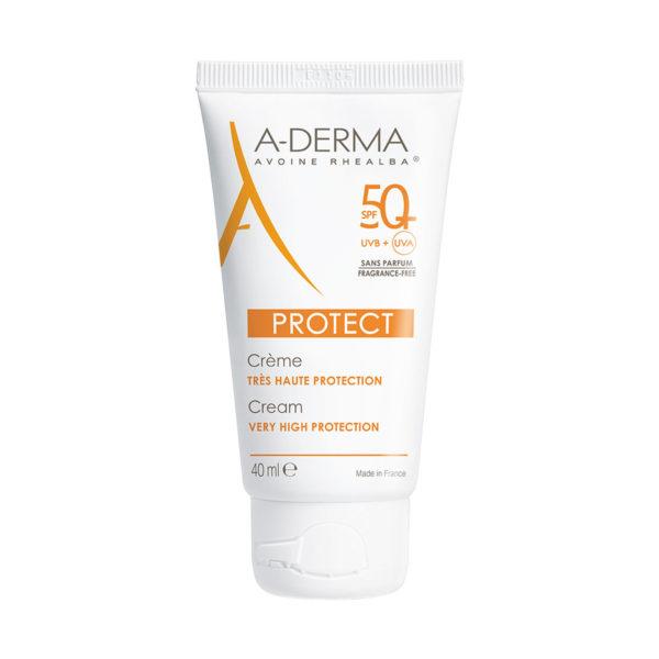 A-Derma Protect krema brez dišav ZF50+