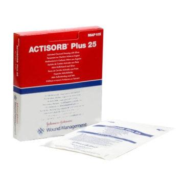 Actisorb Plus, 19 x 10,5 cm, 10 obližev