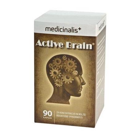 Active Brain za aktivne možgane, 90 kapsul