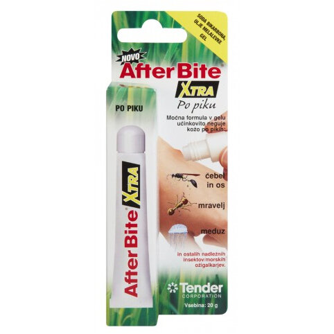 After Bite Xtra gel za pomiritev po piku, 20 g