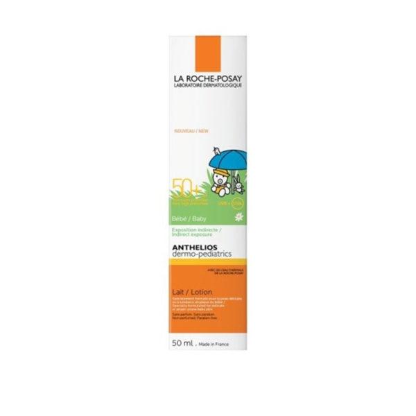 La Roche Posay Anthelios dermo-pediatrics ZF 50+ mleko za občutljivo kožo dojenčkov, 50 ml
