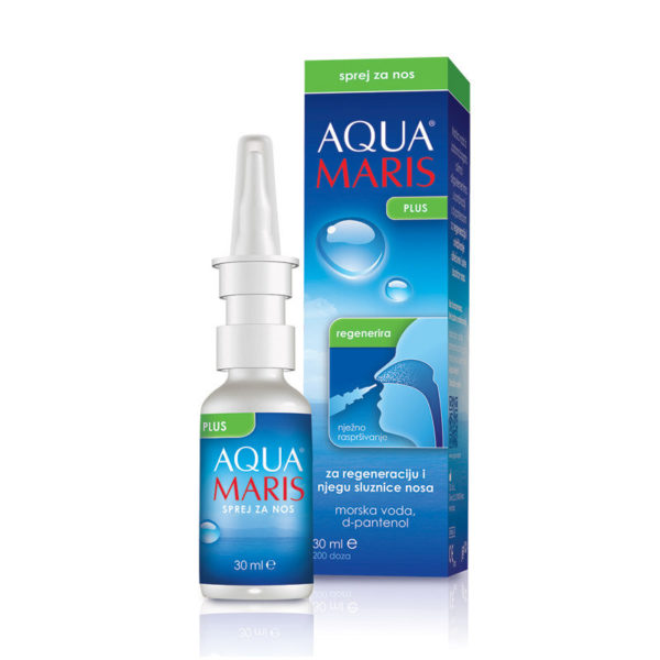 Aqua Maris Plus pršilo za nos, 30 ml