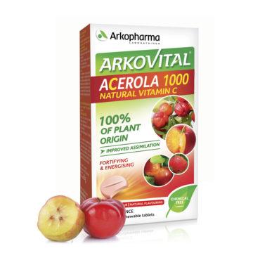 Arkovital Acerola 1000 naraven C vitamin, 30 tablet