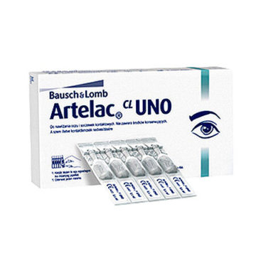 Artelac UNO 3,2 mg na ml enoodmerne kapljice za oko, 30 x 0,6 ml