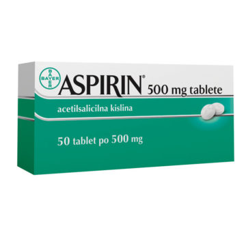 Aspirin 500 mg, 50 tablet
