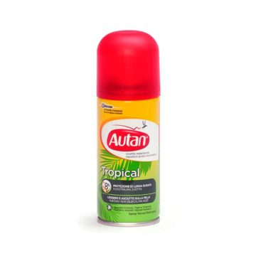 Autan Tropical suhi sprej, 100 ml